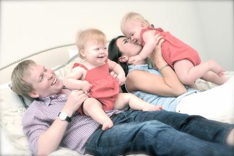 FAMILY PORTRAIT PHOTOGRAPHY, TWINS