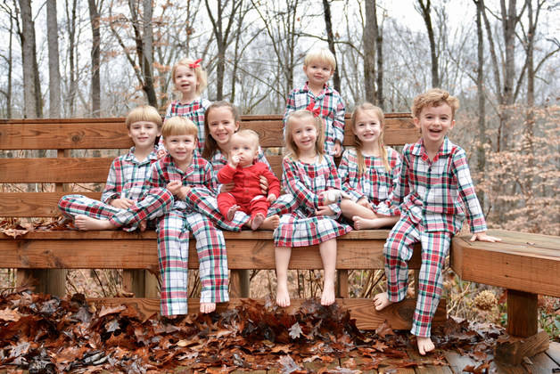 THE ANNUAL CLAWSON FAMILY PHOTO SHOOT, CHRISTMAS FAMILY REUNION EACH YEAR, FAMILY KEEPS ON GROWING, GRANDCHILDREN EVERYWHERE!