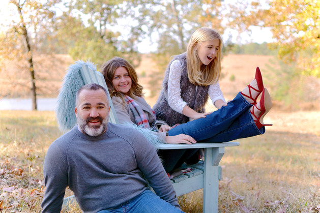 ANDERSON FAMILY CHRISTMAS PORTRAIT