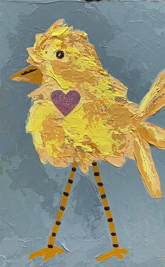 Heart Bird 5