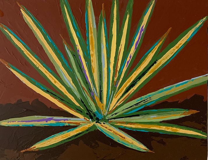 Color Burst Cactus 2