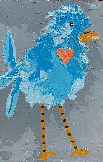 Heart Bird 1