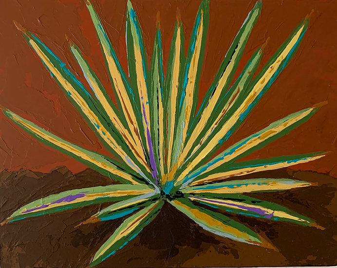 Color Burst Cactus 4