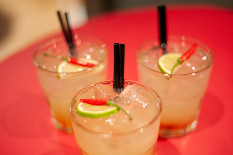 The Club's signature drink: The Salsita Cocktail