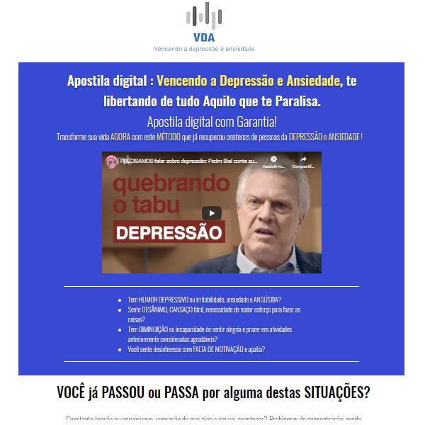 Curso de Tratamento de depressão