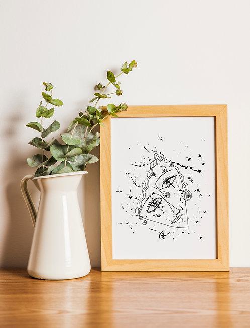 Art of Love : Giclée Fine Art Print or Gallery Wrap