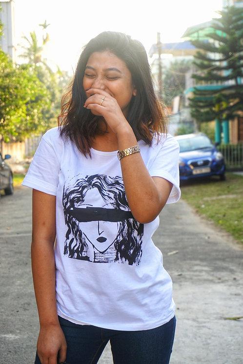 Tiasa Creates : Women's Cotton T-shirt