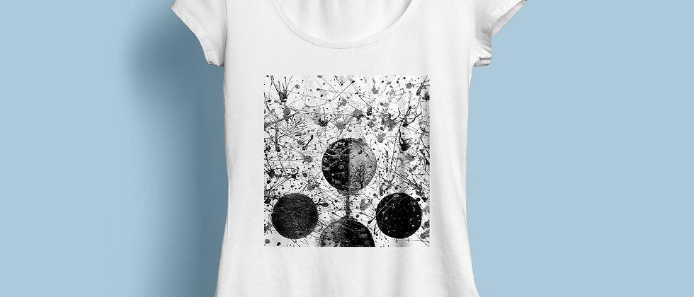 Tiasa Creates : Artsy Cotton T-shirt
