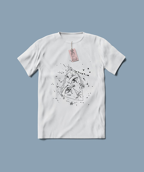Artsy Unisex Cotton T-shirt