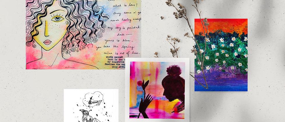 Combo : Giclée Fine Art Prints