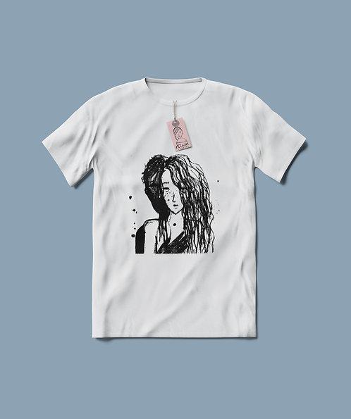 Lovers : Artsy Unisex Cotton T-shirt