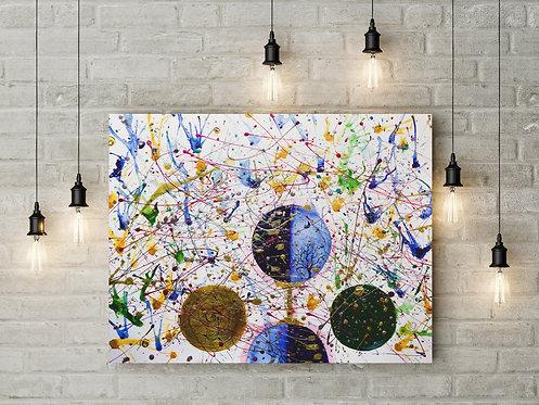 Abstract : Acrylic Original Artwork