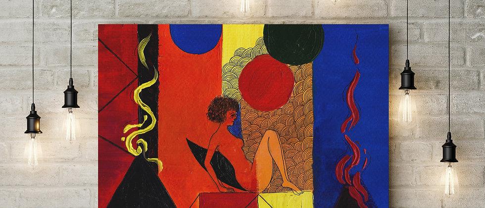 Tricky Mind : Giclée Fine Art Print or Gallery Wrap