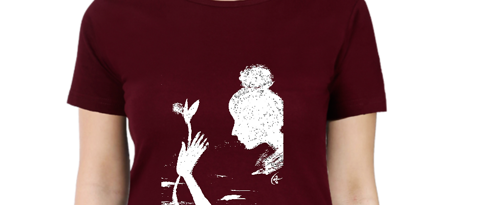Tiasa Creates : Women's Cotton T-shirt