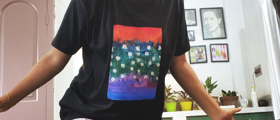 Tiasa Creates : Over Sized Artsy T-shirt