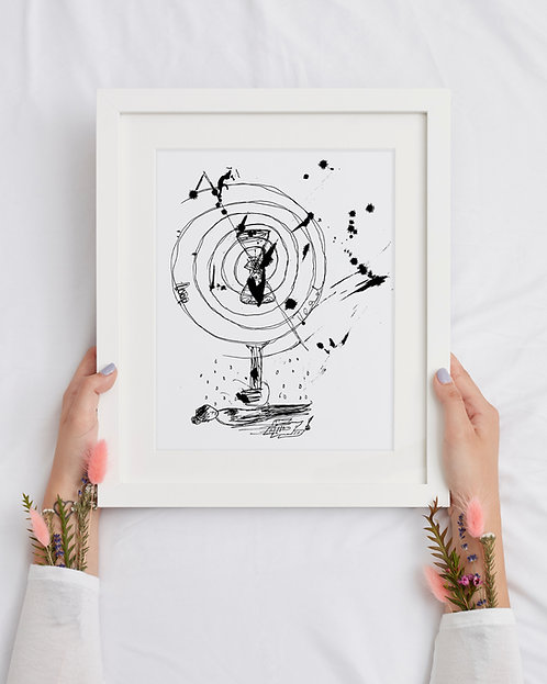 Time : Giclée Fine Art Print or Gallery Wrap