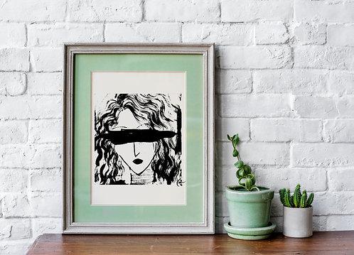Blind Love : Giclée Fine Art Print or Gallery Wrap
