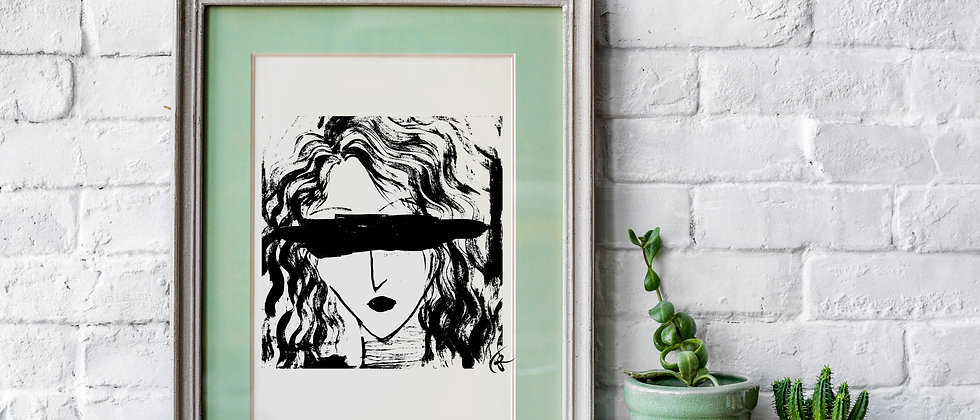 Blind Love : Giclée Fine Art Print or Gallery Wrap