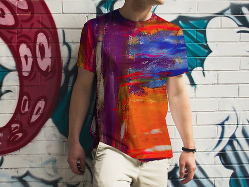 Brushed : Men's All Over Printed T-shirt