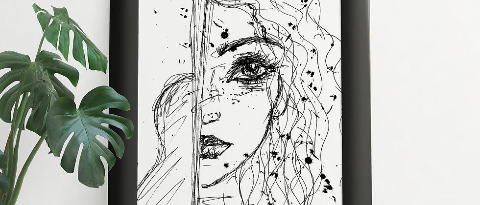 Muse : Giclée Fine Art Print or Gallery Wrap