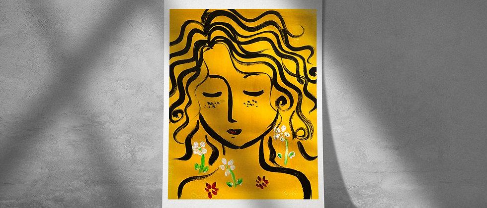 Evergreen : Giclée Fine Art Print or Gallery Wrap