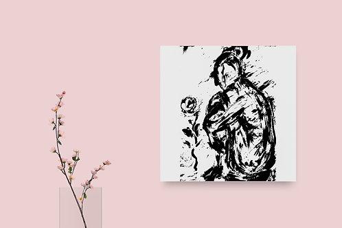 The Wait : Giclée Fine Art Print or Gallery Wrap