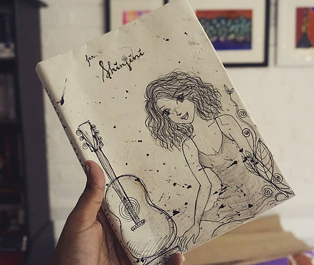 Personalized Handmade Poetry Book
