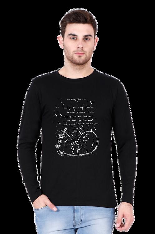 artsy full sleeve men's t-shirt