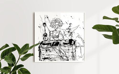 Musical Heartbreak : Giclée Fine Art Print or Gallery Wrap