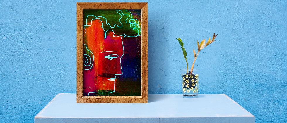Man : Giclée Fine Art Print or Gallery Wrap