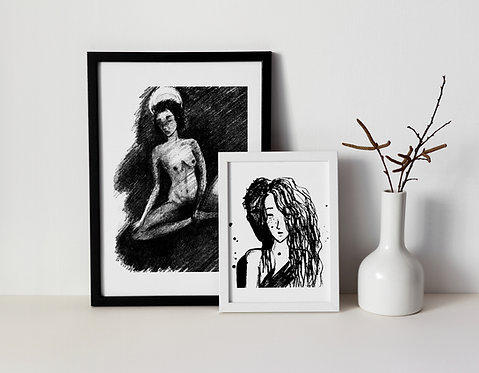 Combo : Giclée Fine Art Print or Gallery Wrap