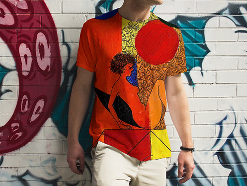 Mind / The Hell - Men's All Over Printed T-shirt