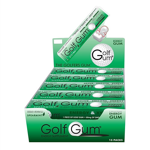 Golf Gum Energy Supplement 1 Pack