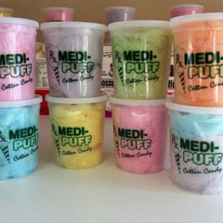 Medi Puff Cotton Candy 100 MG