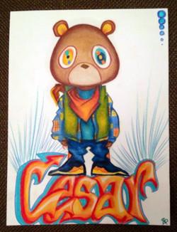 Kanye Bear Custom
