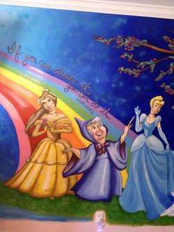 Disney Princess Mural