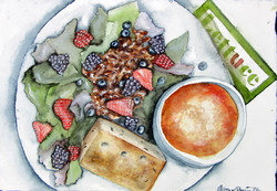 Napa Salad & Minestrone