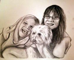 Audrey & Chloe's Portrait