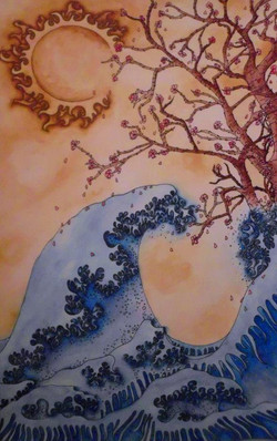 Hokusai Recreation