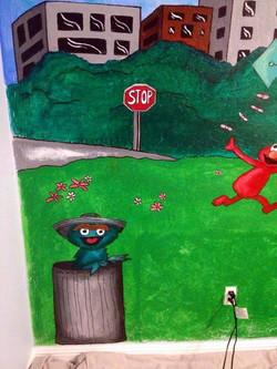 Sesame Street Mural