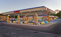 New construction gas station