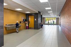 Matoska School Hallway & Bathrooms