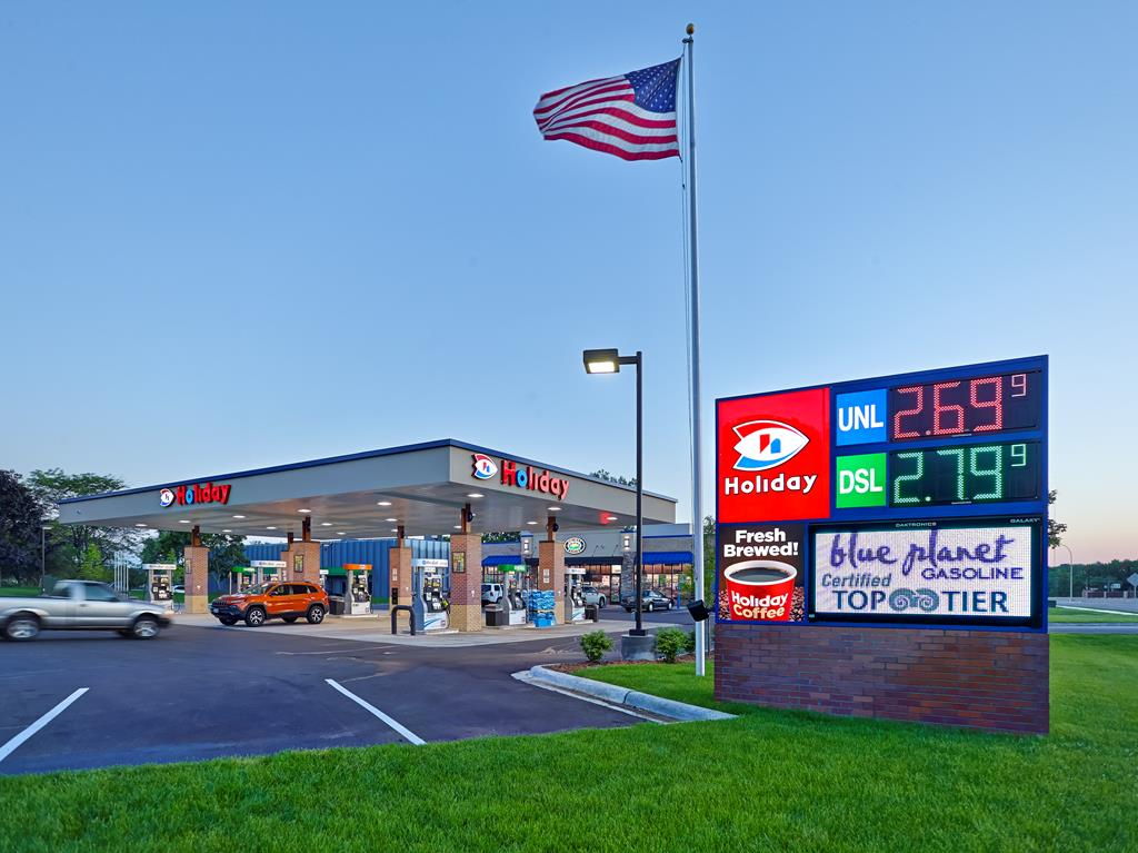 Gas station remodel