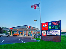 Gas station remodel