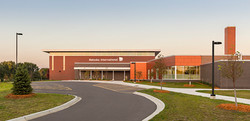 School Exterior New Gymnasium