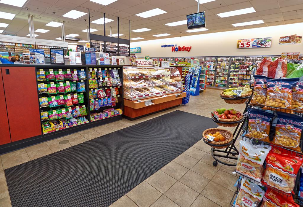 Remodeled convenience store