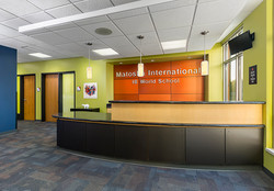 Remodeled School Office & Lobby Area
