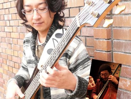 〈講師インタビュー〉ベースギター 木全 希巨人 先生