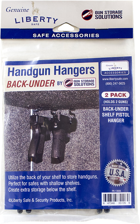 Under Back Pistol Hanger