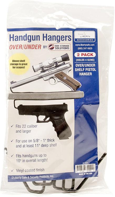 Over/Under Pistol Hanger (2 pack)